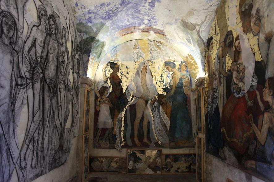 La chapelle Saint -Alexis à Malaucène en Provence