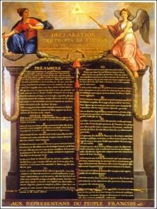 Déclaration Droits de l'H.