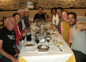 Rob, Alma,Jean-Luc,  Donna, Tony, Aurora, Hugo, Sarah -