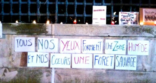 Nîmes pancartes rémi