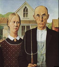Grant Wood, fermiers américains