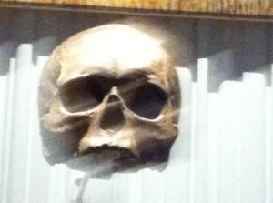 Le crâne de Descartes ou de Michel Onfray?