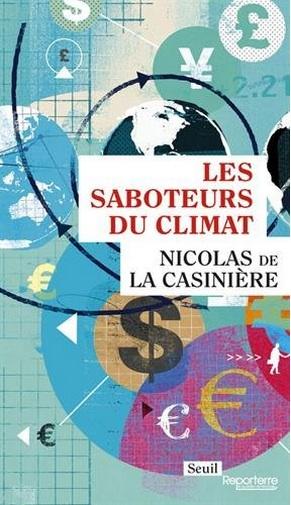couverture Saboteurs du climat